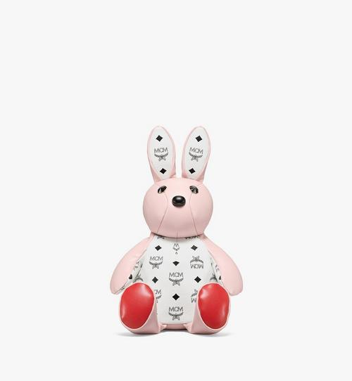 MCM Zoo Rabbit Backpack in Visetos Leather Mix