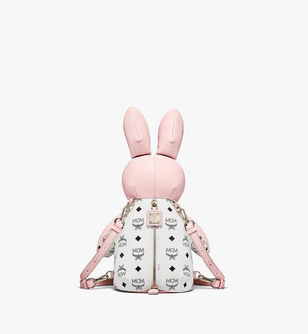 MCM MCM动物园系列Visetos拼接迷你兔子双肩背包 Pink MWKBSXL02QH001 更多视角 3