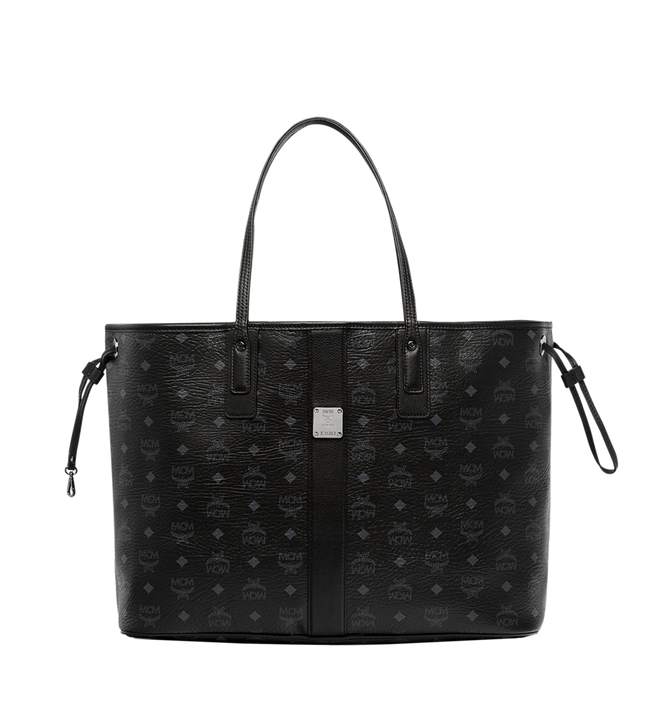 Large Liz Wendeshopper in Visetos Black | MCM® DE
