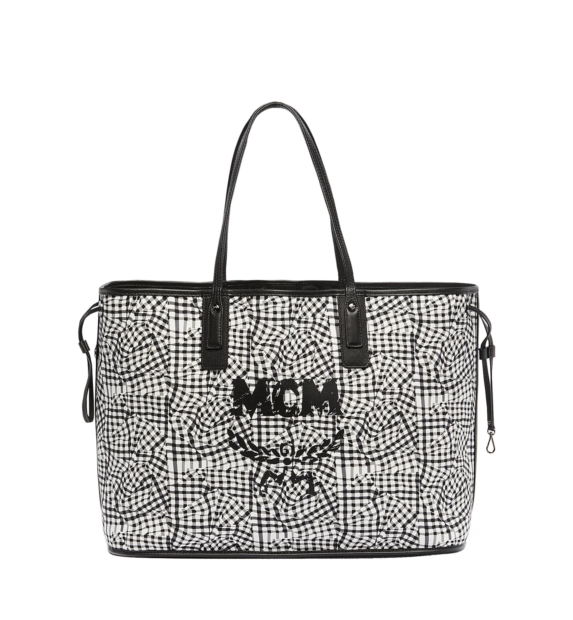 Large Reversible Liz Shopper in Visetos Black | MCM® DE