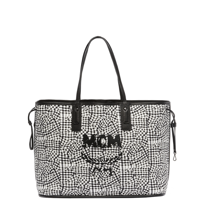 MCM Reversible Liz Shopper in Visetos Black MWP7AVI21BK001 Alternate View 6