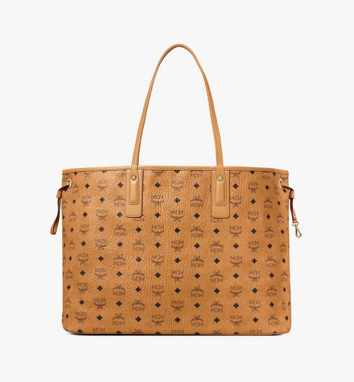 MCM Liz Wendeshopper in Visetos Cognac MWP7AVI21CO001 Alternate View 4