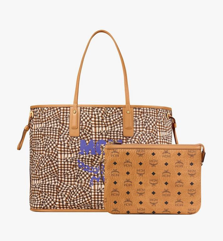 MCM Reversible Liz Shopper in Visetos Cognac MWP7AVI21CO001 Alternate View 4