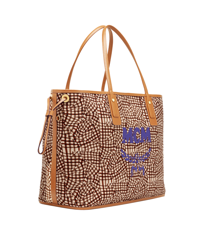 MCM Reversible Liz Shopper in Visetos Cognac MWP7AVI21CO001 Alternate View 5