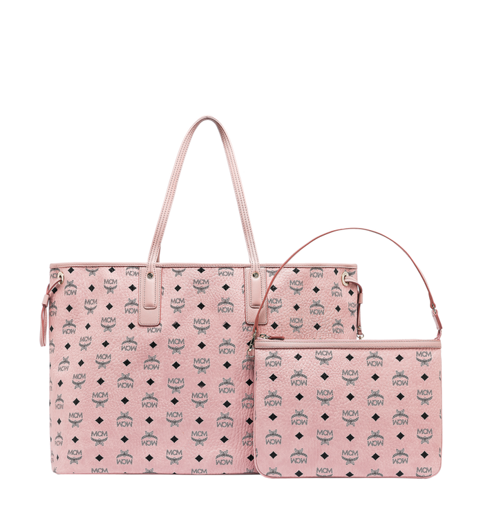 MCM Reversible Liz Shopper in Visetos Pink MWP7AVI21PZ001 Alternate View 4