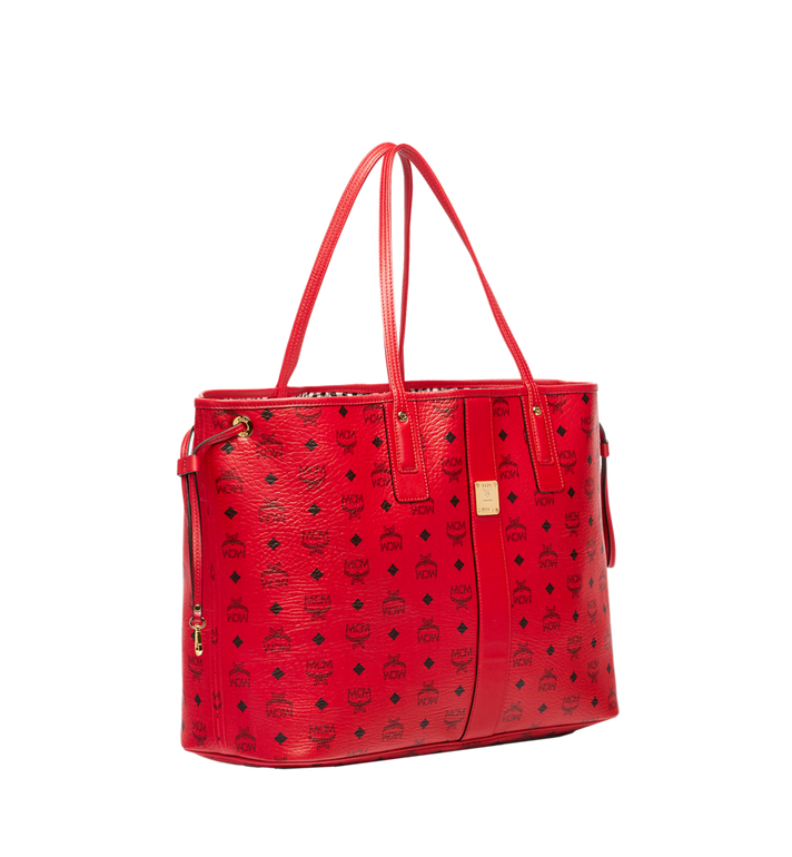 MCM Reversible Liz Shopper in Visetos Red MWP7AVI21RU001 Alternate View 2