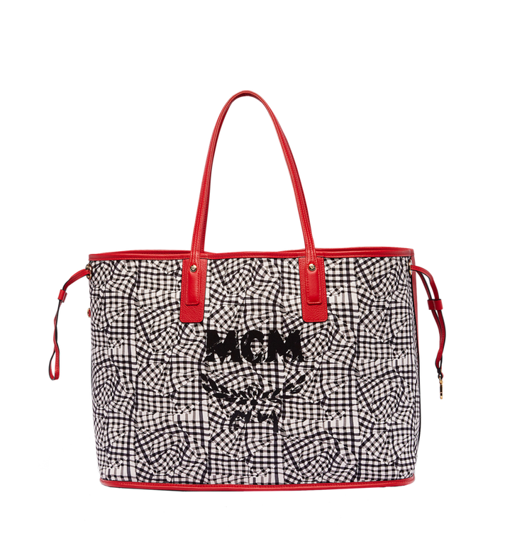 MCM Reversible Liz Shopper in Visetos Red MWP7AVI21RU001 Alternate View 6