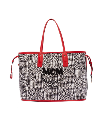 MCM Reversible Liz Shopper in Visetos Alternate View 6