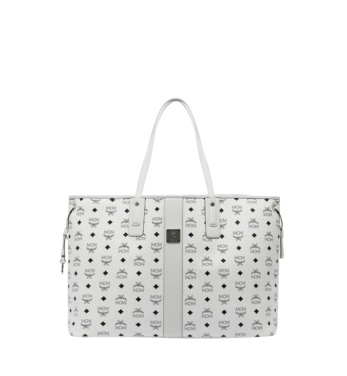 MCM Reversible Liz Shopper in Visetos MWP7AVI21WT001 AlternateView