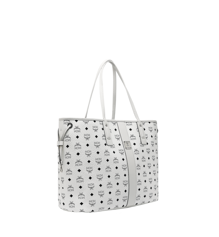 MCM Reversible Liz Shopper in Visetos MWP7AVI21WT001 AlternateView2