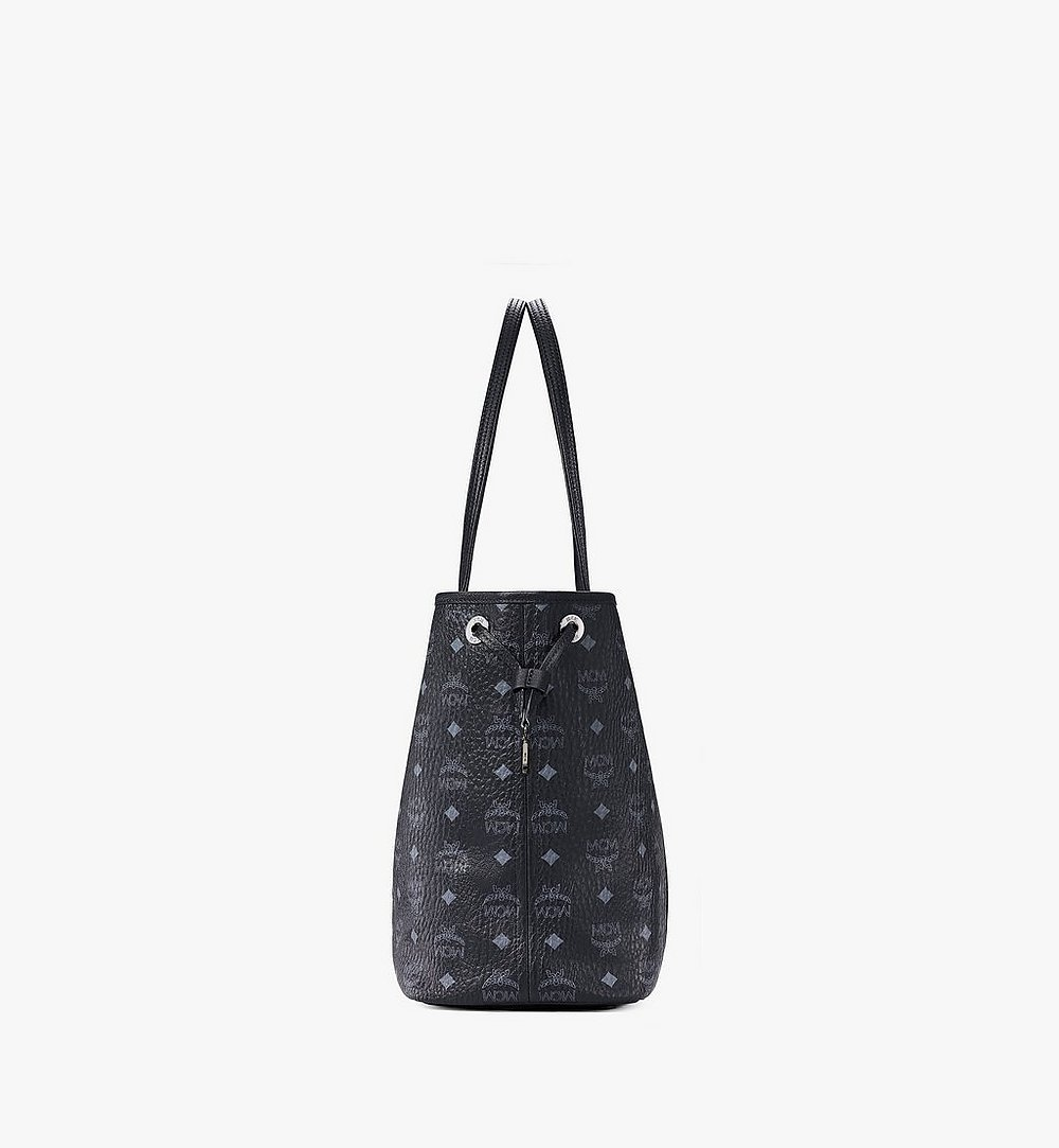 MCM Reversible Liz Shopper in Visetos Black MWP7AVI22BK001 Alternate View 1