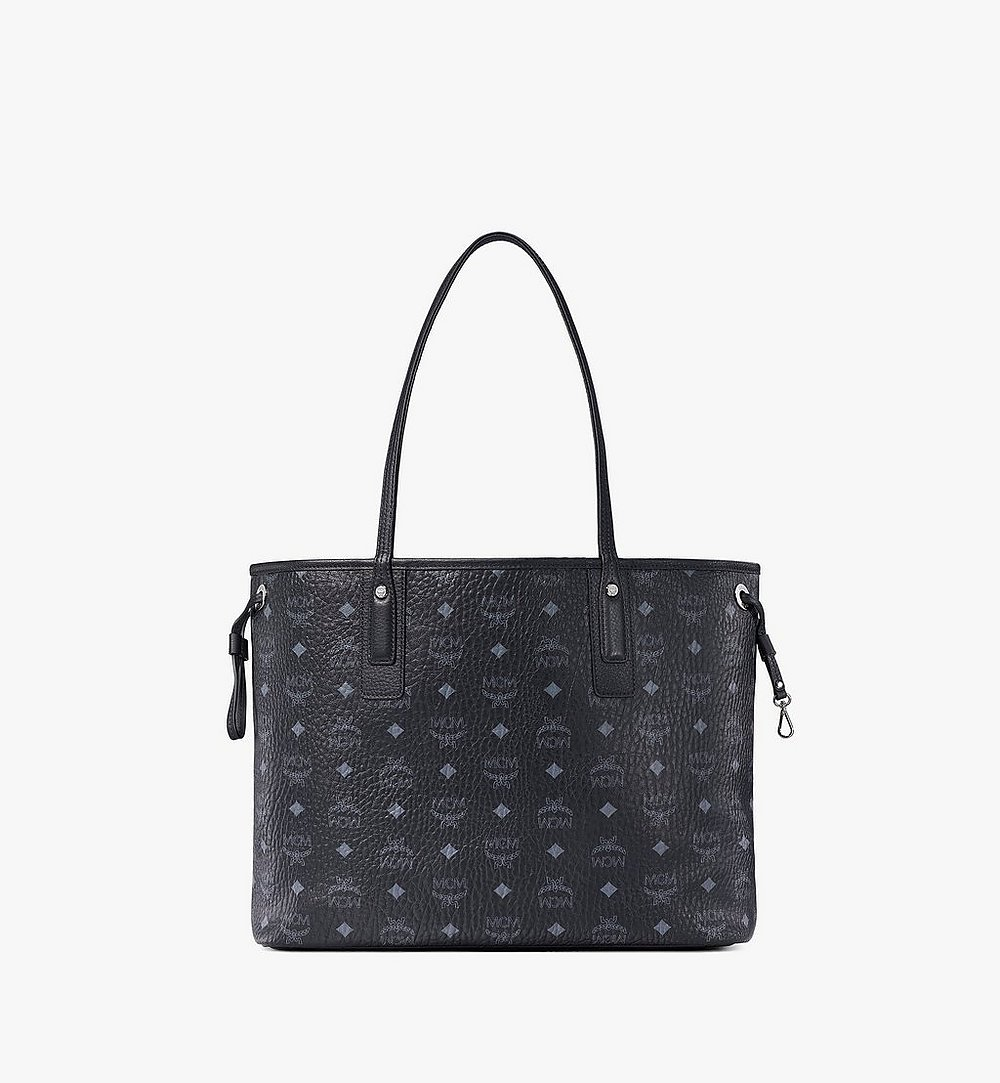 MCM Reversible Liz Shopper in Visetos Black MWP7AVI22BK001 Alternate View 3