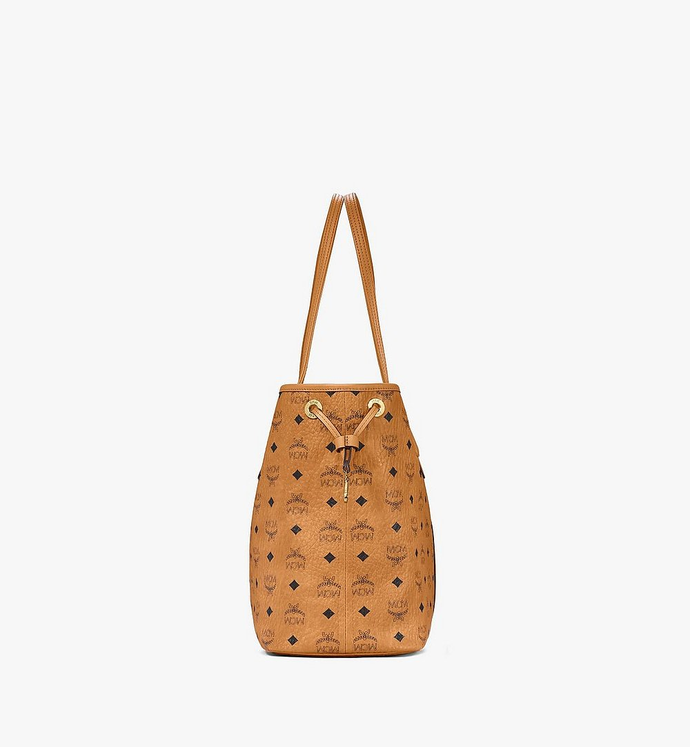 MCM Reversible Liz Shopper in Visetos Cognac MWP7AVI22CO001 Alternate View 1