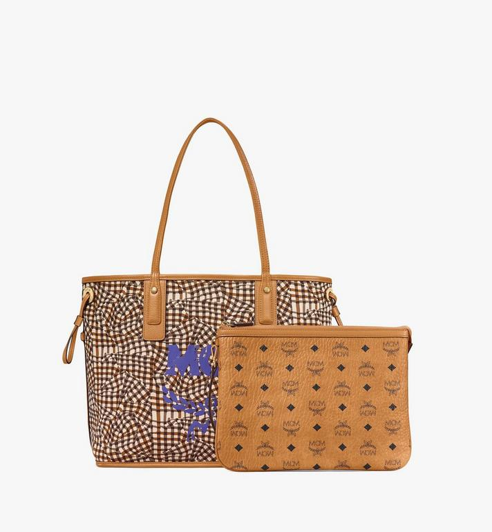 MCM Reversible Liz Shopper in Visetos Cognac MWP7AVI22CO001 Alternate View 5