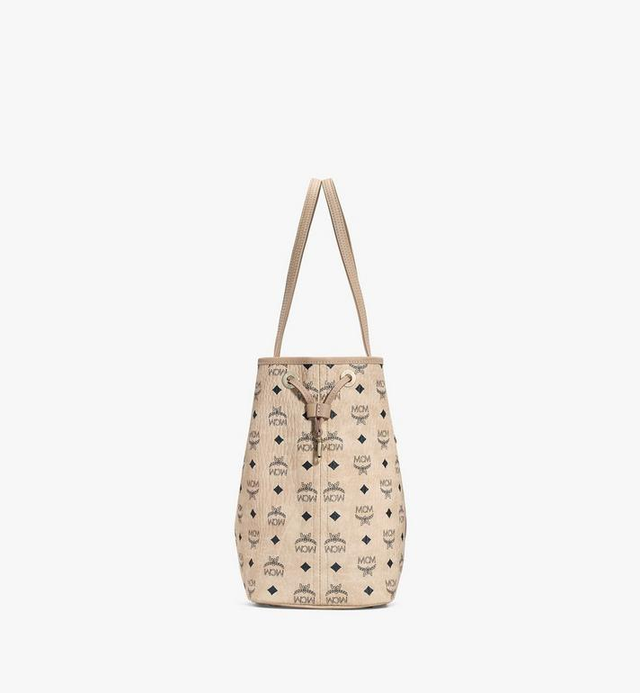 MCM Reversible Liz Shopper in Visetos Beige MWP7AVI22IG001 Alternate View 2