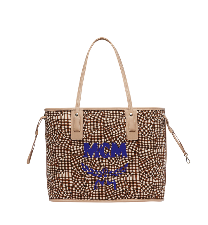 MCM Reversible Liz Shopper in Visetos AlternateView6