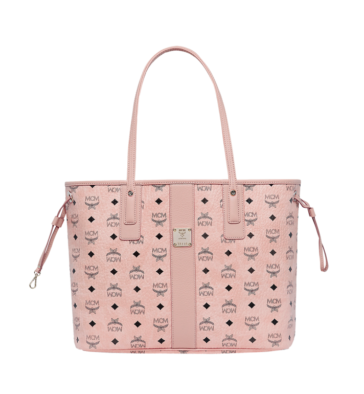 MCM Reversible Liz Shopper in Visetos Pink MWP7AVI22PZ001 Alternate View 1