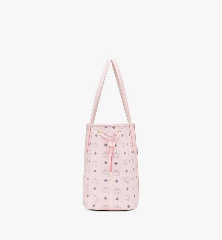 MCM Liz Reversible Shopper in Visetos Pink MWP7AVI22QH001 Alternate View 3