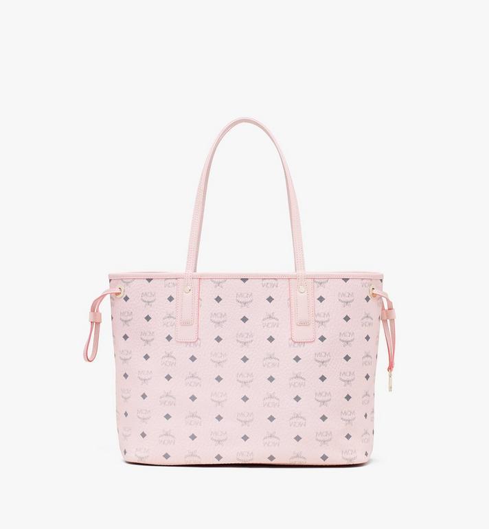 MCM Liz Reversible Shopper in Visetos Pink MWP7AVI22QH001 Alternate View 4