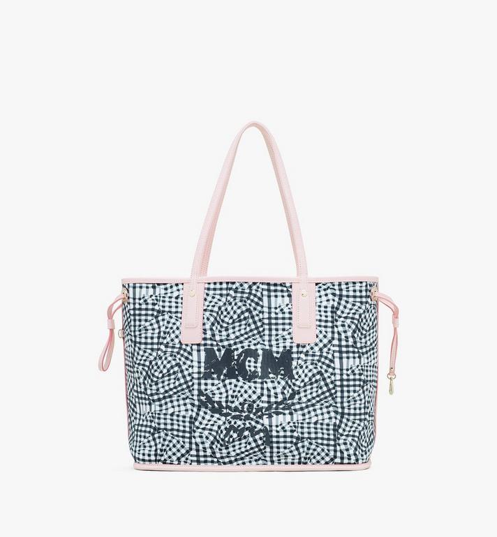 MCM Liz Reversible Shopper in Visetos Pink MWP7AVI22QH001 Alternate View 6