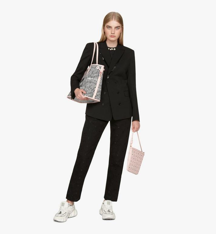 MCM Liz Reversible Shopper in Visetos Pink MWP7AVI22QH001 Alternate View 10