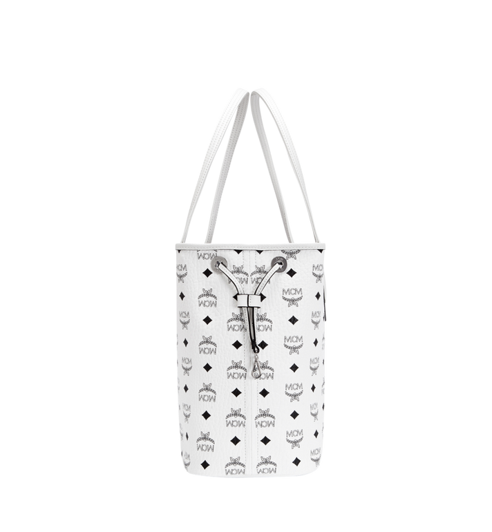 MCM Reversible Liz Shopper in Visetos White MWP7AVI22WT001 Alternate View 3