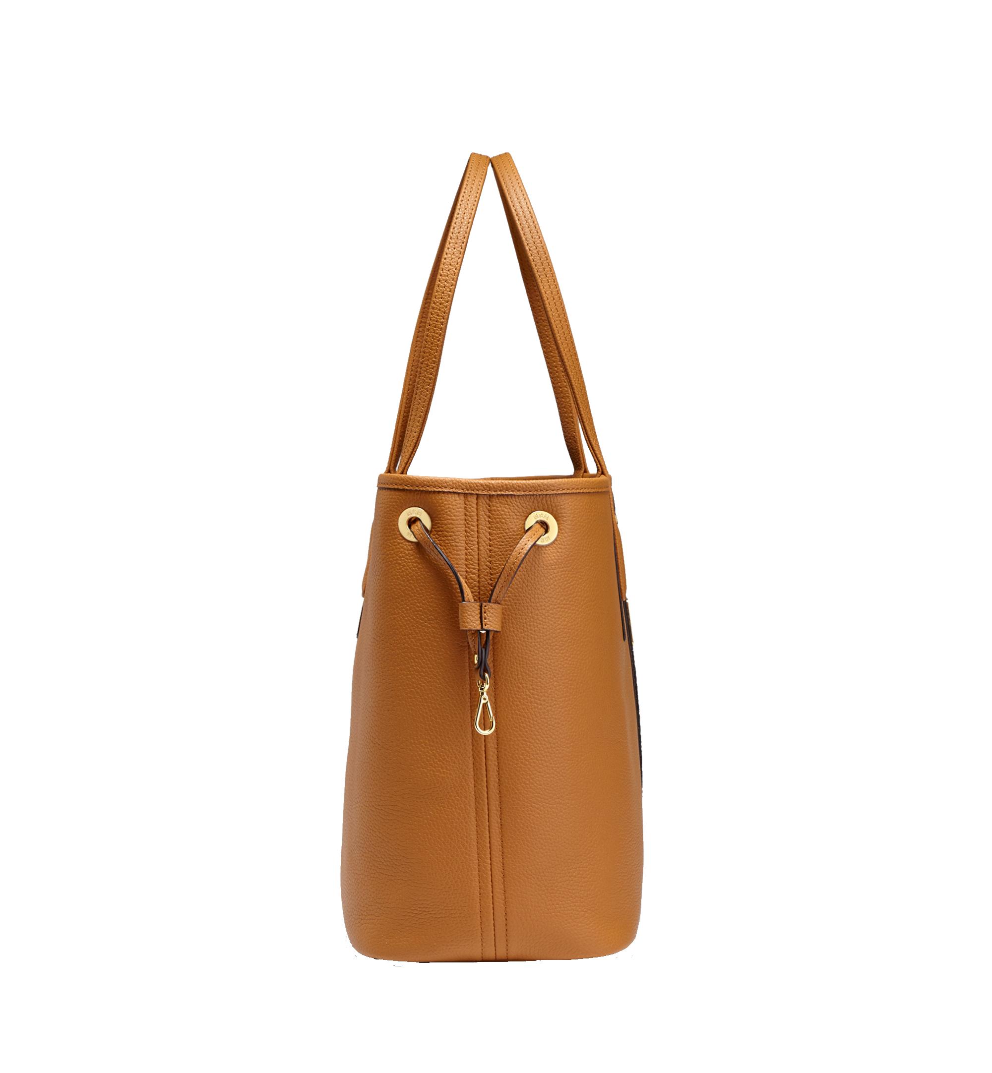 Medium Reversible Liz Shopper in Leather Cognac | MCM® DE