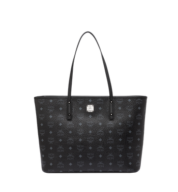 MCM Anya Shopper mit Reissverschluss in Visetos Alternate View 1