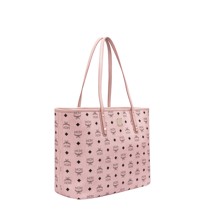 MCM Anya Top Zip Shopper in Visetos Alternate View 2