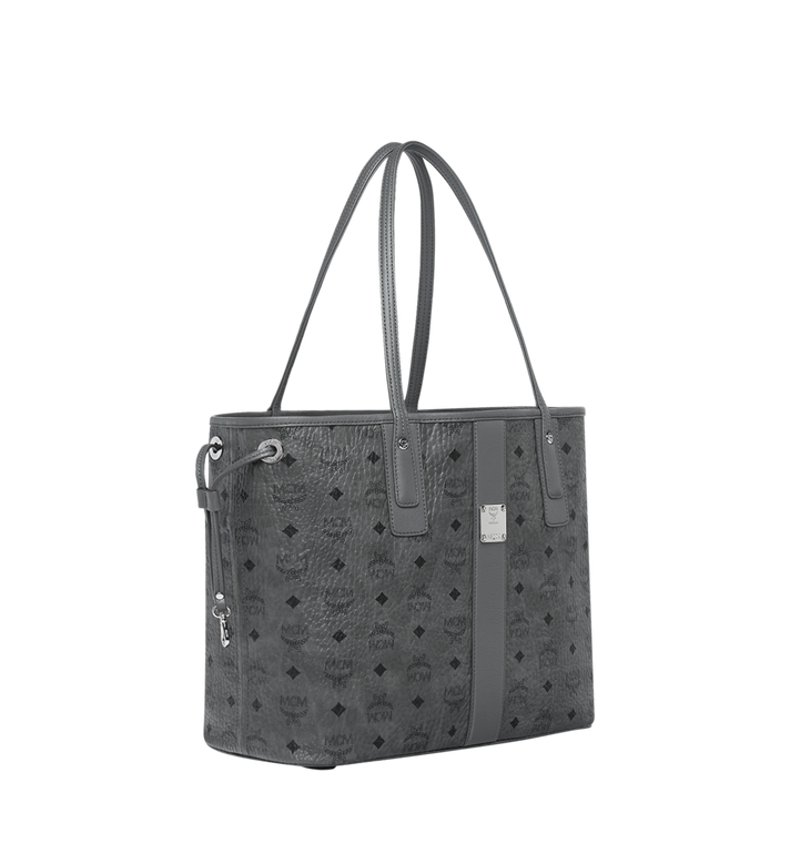 Medium LIZ WENDESHOPPER IN VISETOS Phantom Grey | MCM® DE