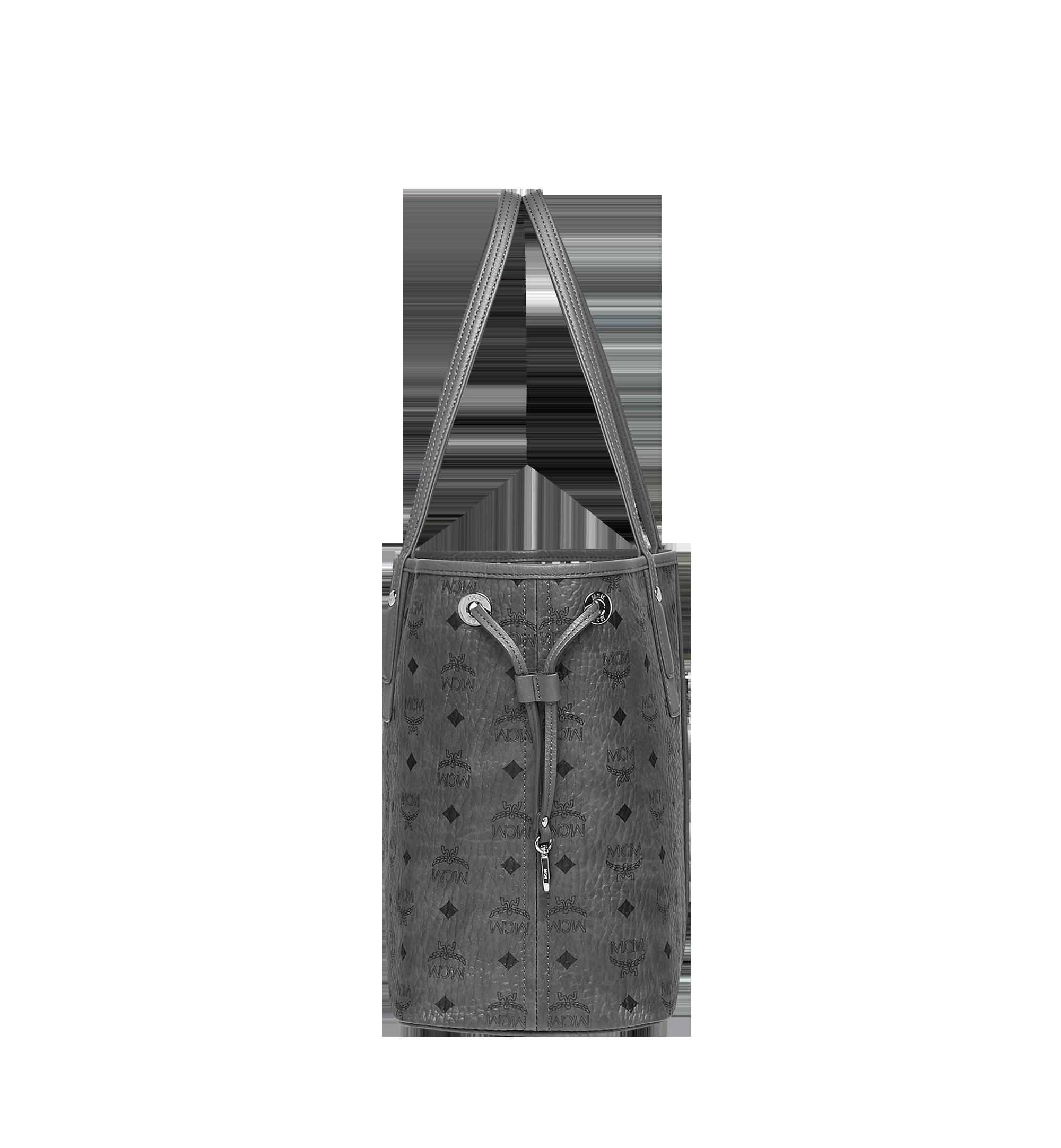 Medium LIZ WENDESHOPPER IN VISETOS Phantom Grey | MCM® DE
