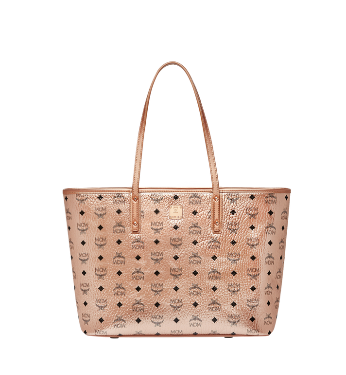 MCM Anya Top Zip Shopper in Visetos Alternate View 1