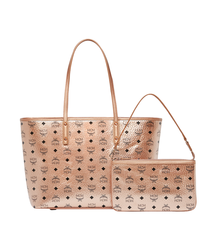 MCM Anya Shopper mit Reissverschluss in Visetos Alternate View 4