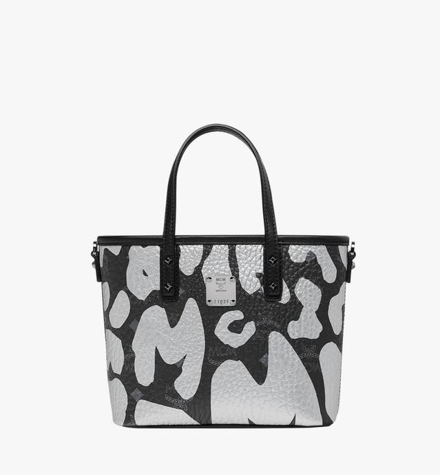 Anya Top Zip Shopper in MCM Leopard Print