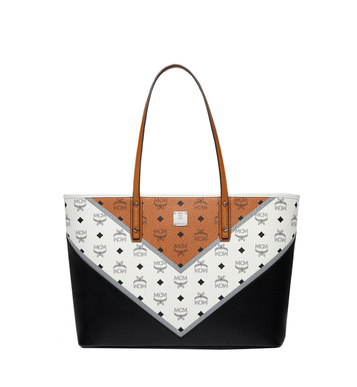 MCM Stark Shopper in Chevron Visetos MWP8SVE94CO001 AlternateView