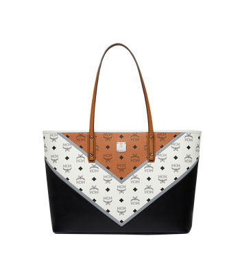 MCM Stark Shopper in Chevron Visetos MWP8SVE94CO001 AlternateView1