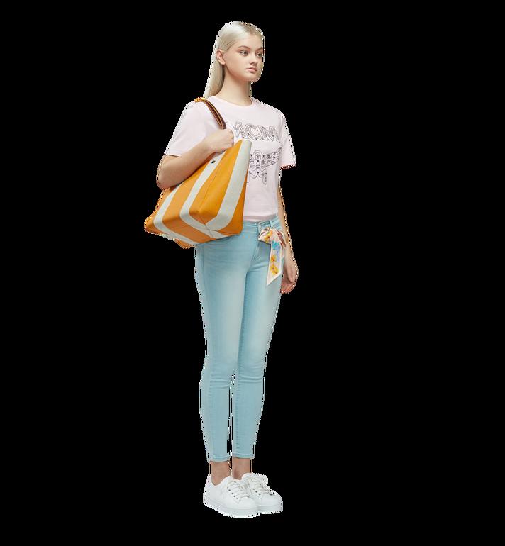 MCM Ilse Shopper in Canvas MWP8SVW50YX001 AlternateView6