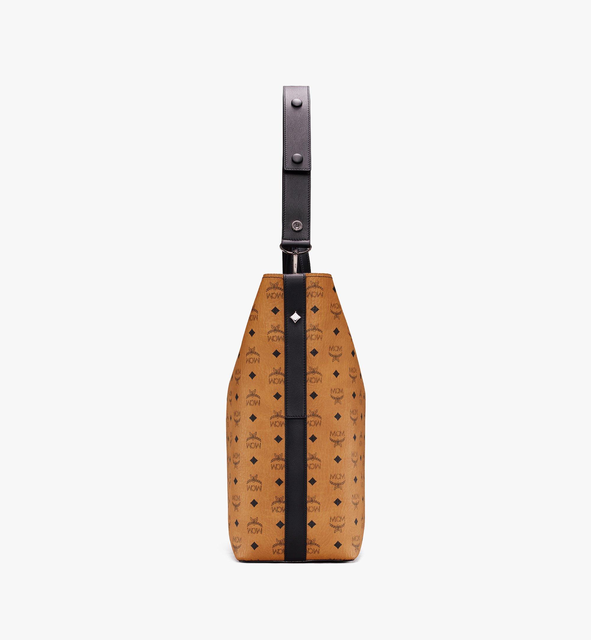 MCM Gunta Visetos 冬款購物袋 Cognac MWP9AGU01CO001 更多視圖 2