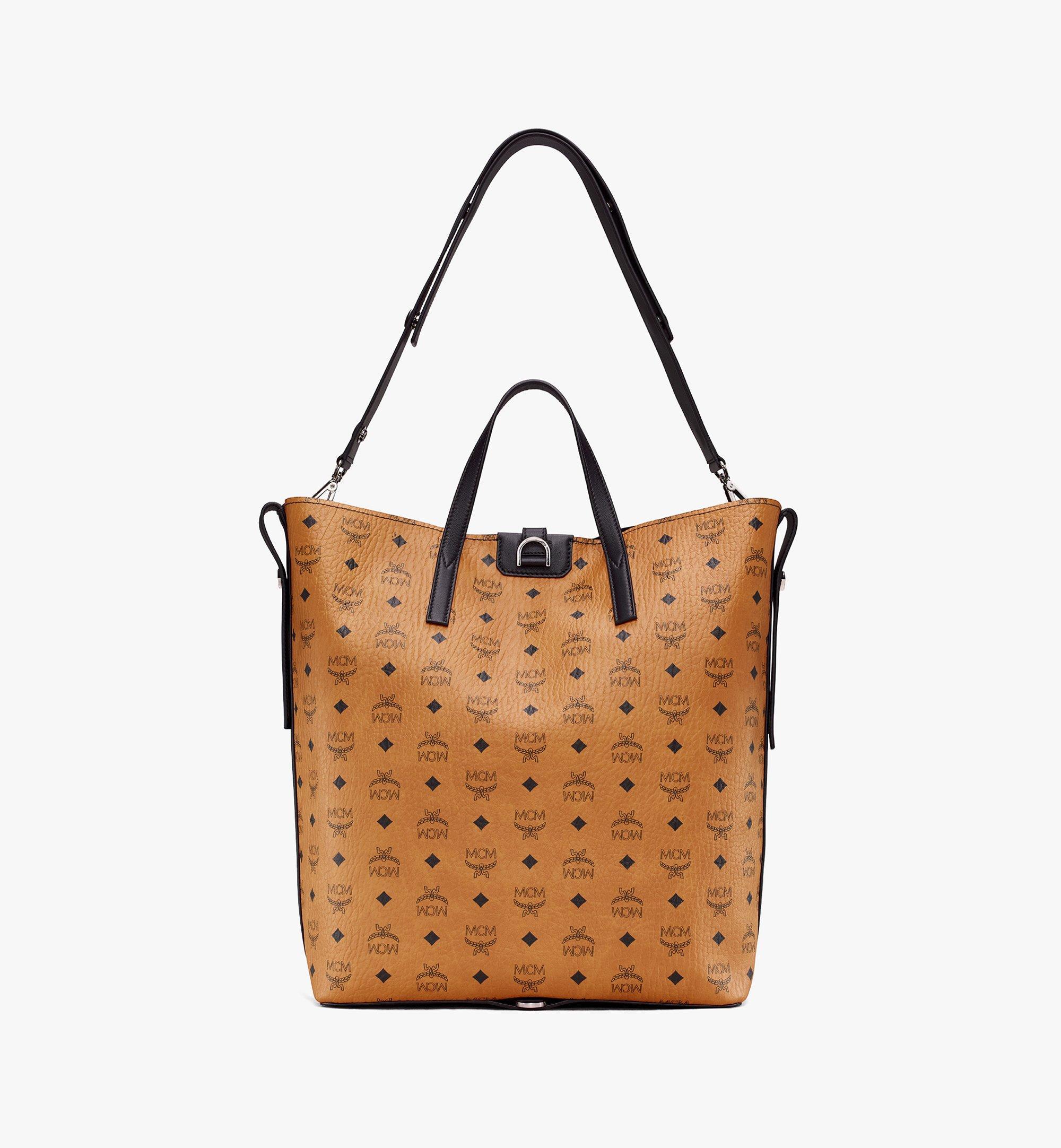 MCM Gunta Visetos 冬款購物袋 Cognac MWP9AGU01CO001 更多視圖 3