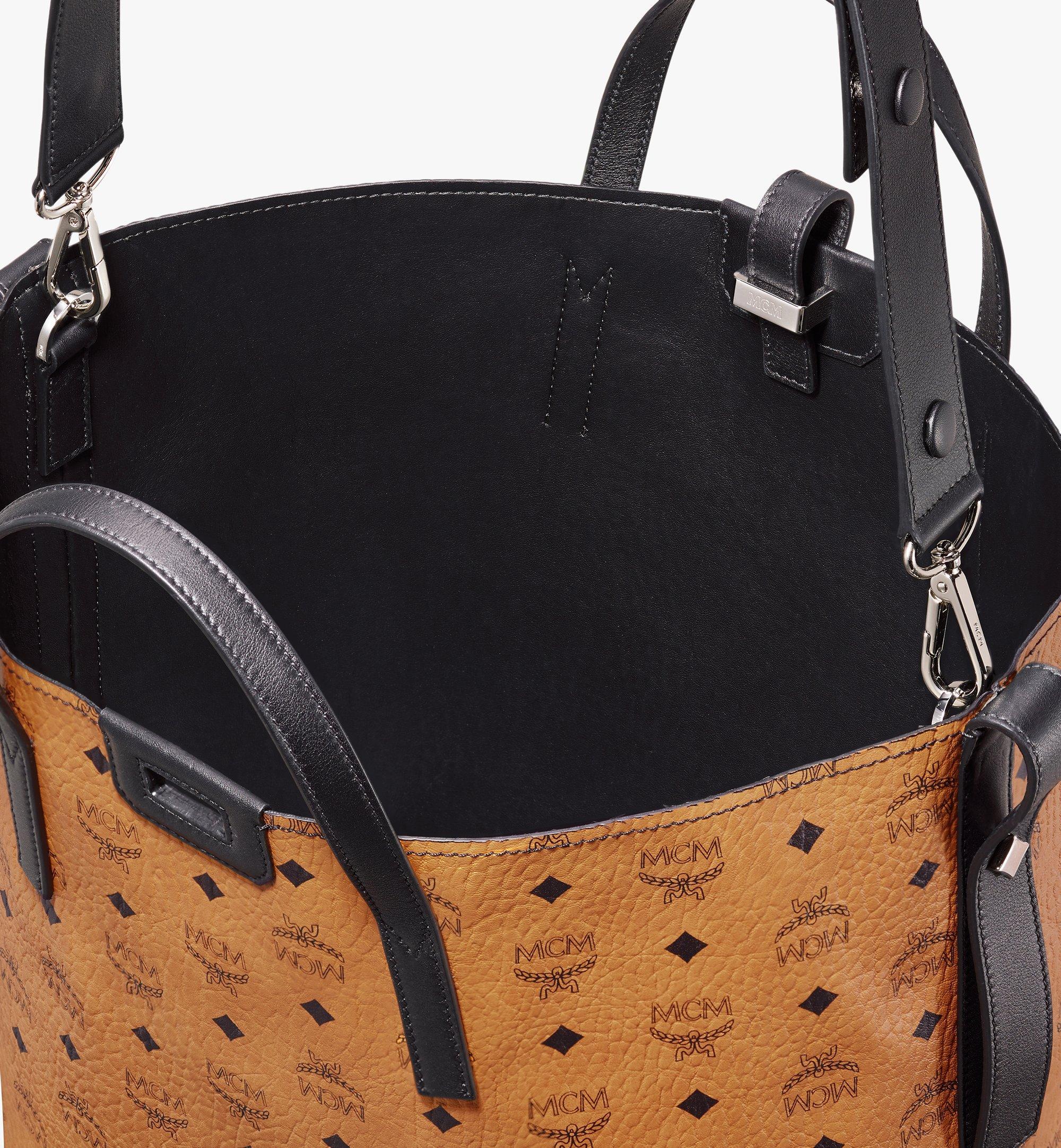 MCM Gunta Visetos 冬款購物袋 Cognac MWP9AGU01CO001 更多視圖 4