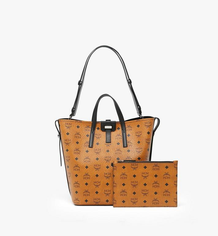 MCM Gunta Shopper in Visetos  MWP9AGU02CO001 Alternate View 2