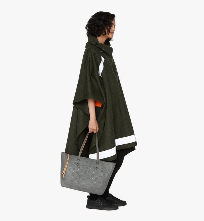 MCM Klara Monogram Shopper in Leather Alternate View 5