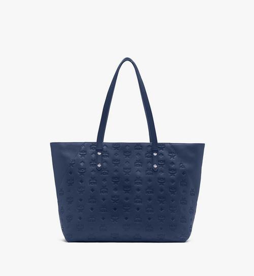 Klara Monogram Shopper in Leather