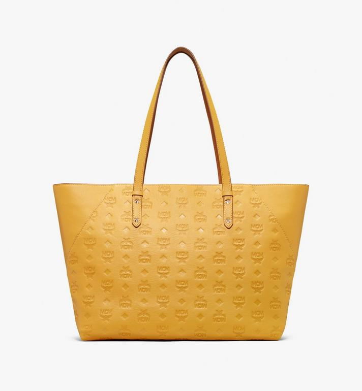 MCM Klara Monogram Shopper in Leather Alternate View