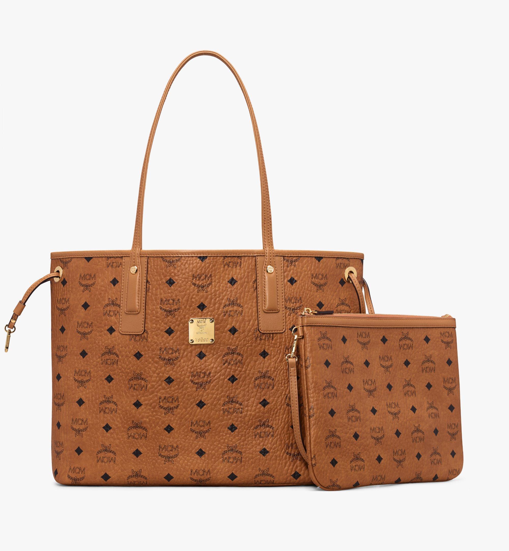 Medium Liz Shopper in Visetos Cognac | MCM® DE