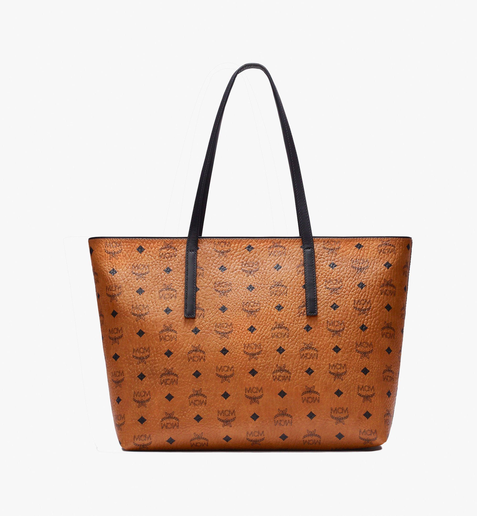 MCM Visetos 系列的 Anya Shopper 包款 Cognac MWP9AVI61CO001 更多視圖 2