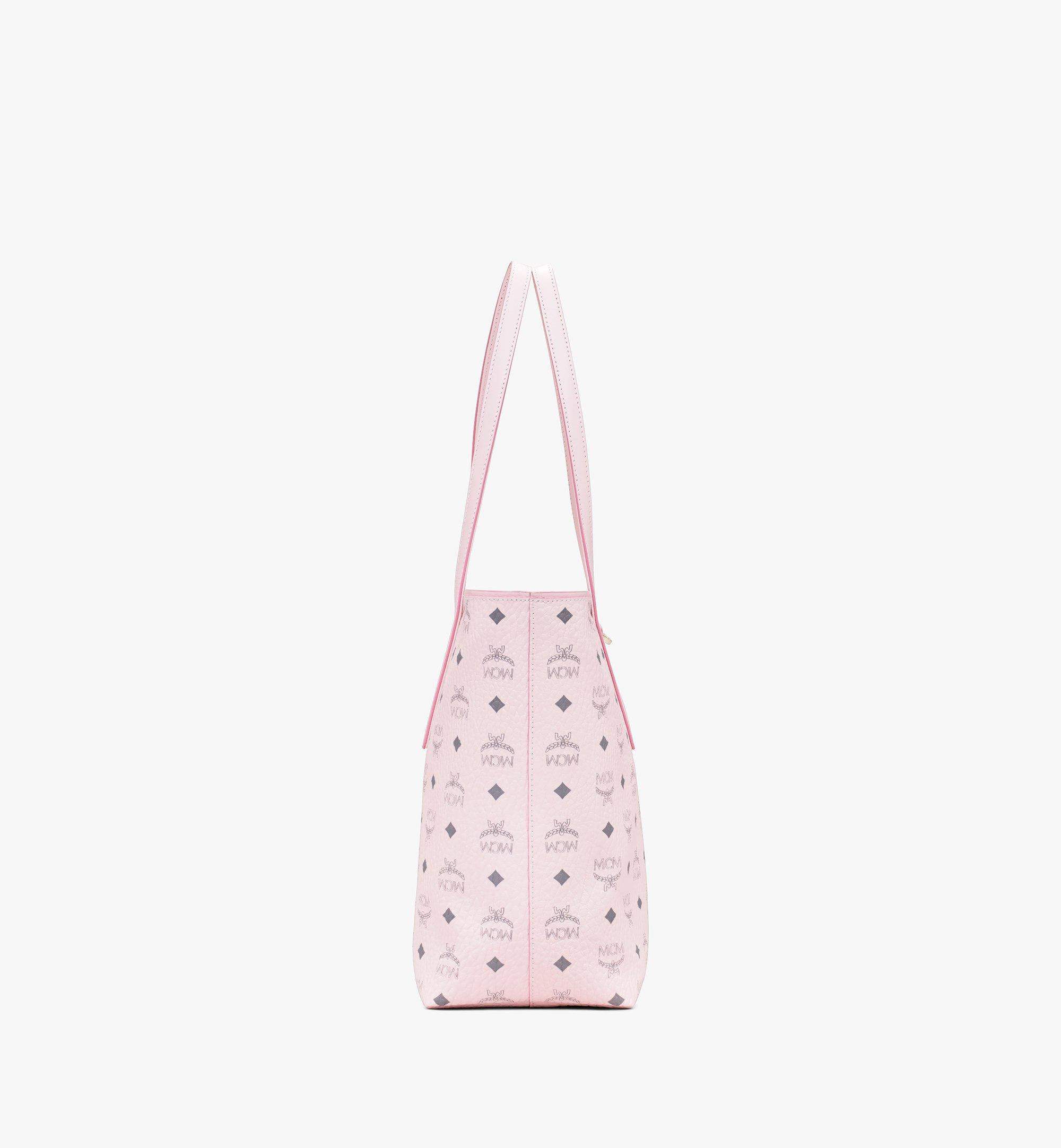 Medium Anya Shopper in Visetos Powder Pink | MCM® DE