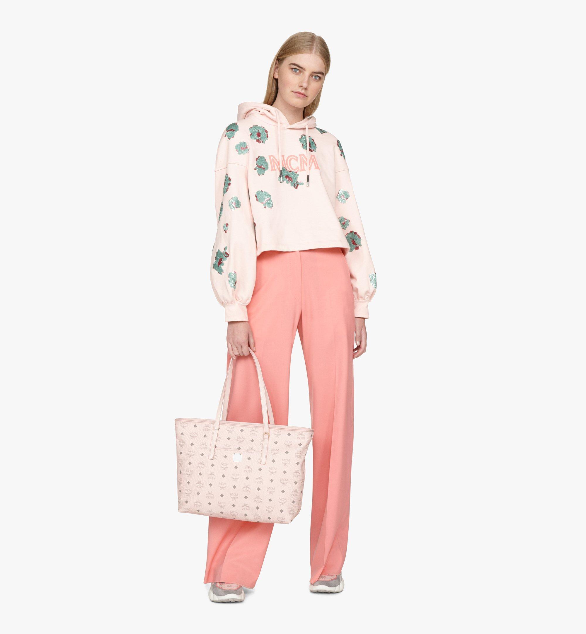 MCM Visetos 系列的 Anya Shopper 包款 Pink MWP9AVI61QH001 更多視圖 2