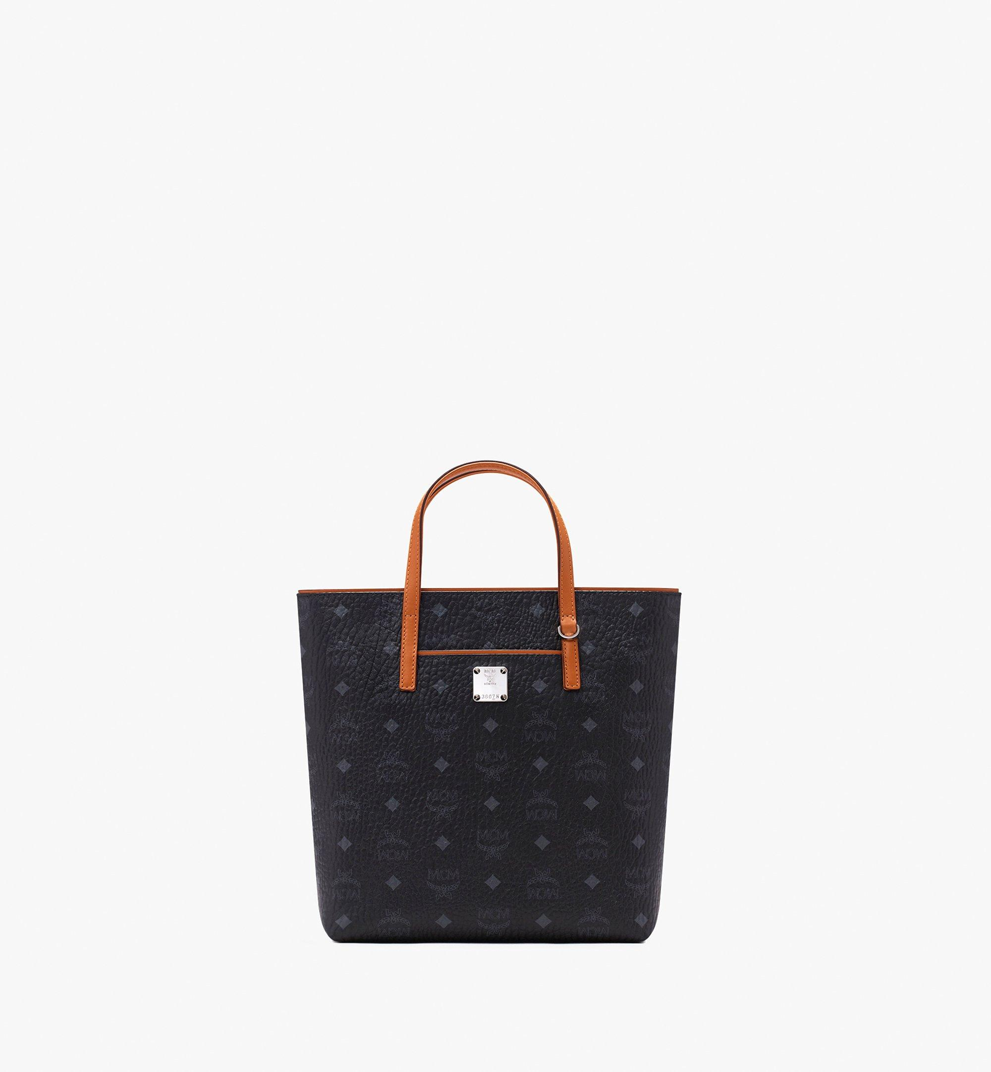 MCM 안야 쇼퍼 Black MWP9AVI77BK001 Alternate View 1