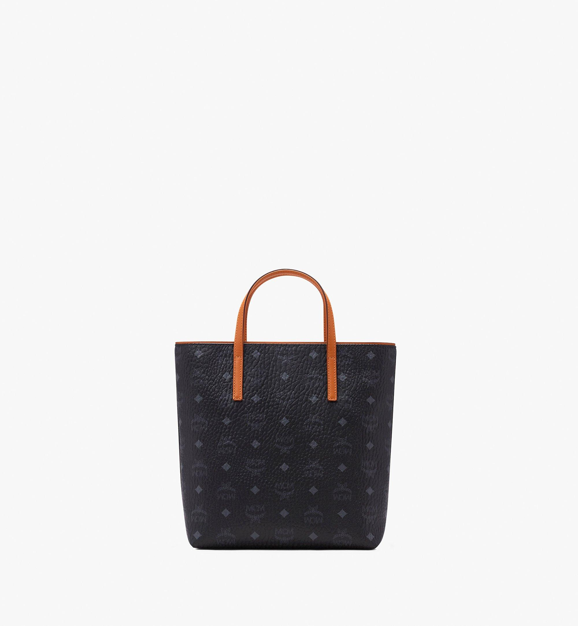 MCM 안야 쇼퍼 Black MWP9AVI77BK001 Alternate View 3